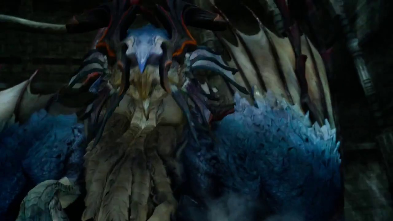 Final Fantasy 15 Defeat Big Boss Quetzalcoatl of Steyliff Grove Vesperpool  Dungeon