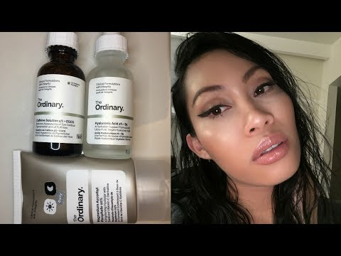 Review: The Ordinary Skin Care Products For Dry, Sensitive And Acne Prone Skin