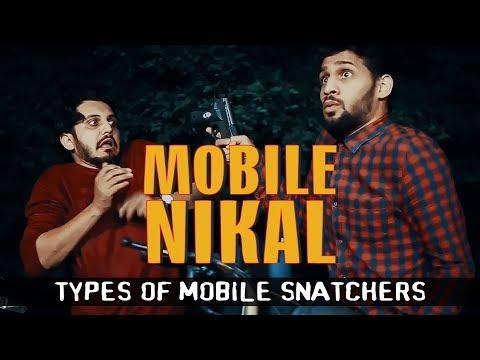 MOBILE NIKAL | Types Of Mobile Snatchers | Karachi Vynz Official