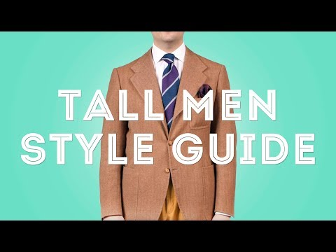 Tall Men Clothing Style Guide - Suits, Ties, Shirts, Fashion - Gentleman's Gazette