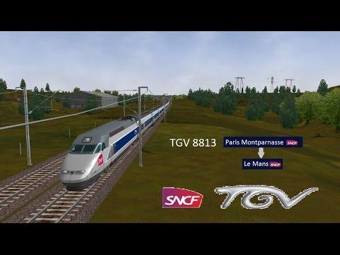 [OR-MSTS] TGV 8813 Paris Montparnasse - Le Mans