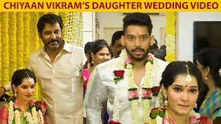 Vikram's Daughter Wedding Video | Akshita-Manu Ranjith | TN 330