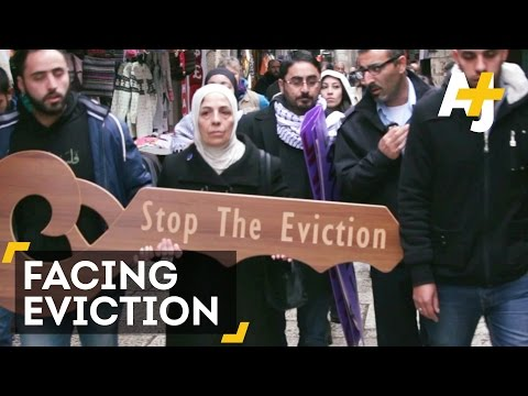 Palestinian Family Is Facing Eviction in Occupied East Jerusalem
