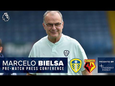 LIVE: Marcelo Bielsa press conference |  Leeds United v Watford |  Premier league