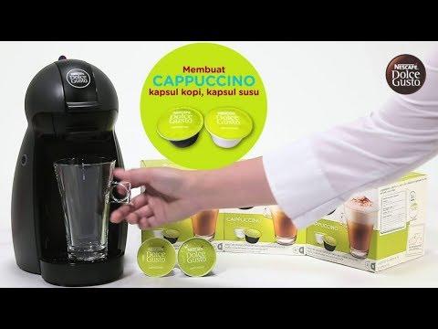 Membuat Coffee Ala Cafe Sendiri Di Rumah | Mesin Coffee Dolce Gusto || Maria Koisin