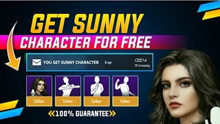 Finally Sunny Character Is Here | How to Unlock Sunny Character Pubg & Get Free Character Vouchers