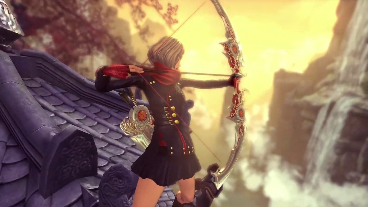 Blade & Soul] New Class: Archer & Unreal Engine 4 Trailer