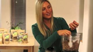 Raw Vegan Cherry Nut Bar Recipe With Seeded Raisins