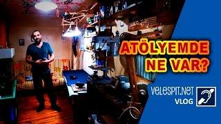 Atölyemde Ne Var? | Vlog #1 | Velespit.Net Atölyesi ve Stüdyosu Bakalım Neler Varmış?