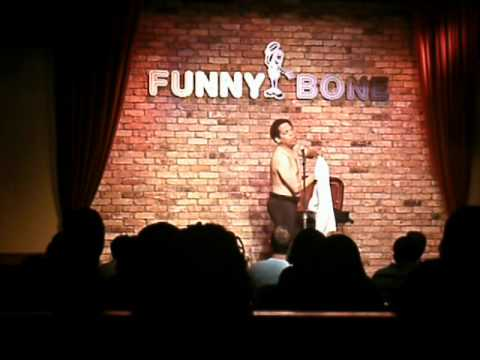 Greg Morton Doing His Celebrity Impressions On Stage At Funnybone/ Newport,KY
