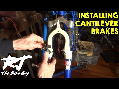 Converting Bike From V Brakes To Cantilever Brakes