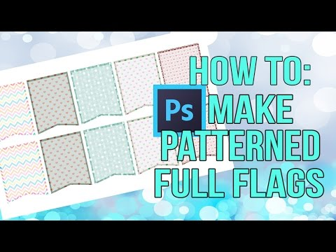 How To Make Patterned Full Flags How To Make Stickers DIY STICKERS