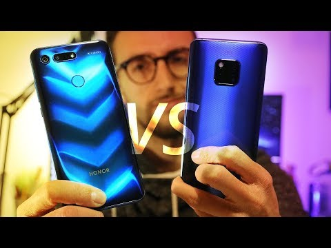 HONOR VIEW 20 VS HUAWEI MATE 20 PRO - Quale scegliere tra i due? BUCO o NOTCH?