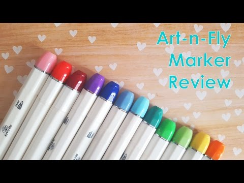 Art Review: Art-n-Fly Alcohol Based Markers ♡ iiKiui