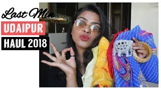 Udaipur ( उदयपुर ) Shopping Haul  2018 || Bandhani Prints, Jewellery & More ????