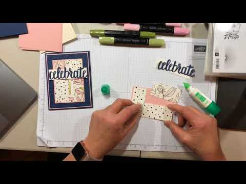 Springtime Foil Celebrate You Card Video Tutorial