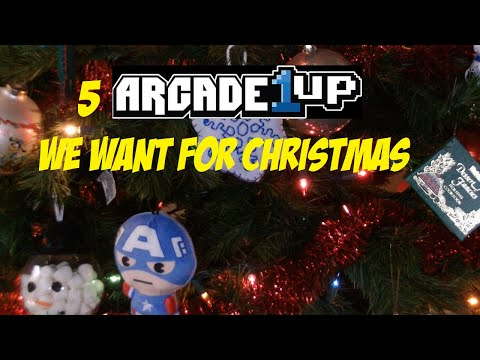 Top 5 Arcade 1 Up Cabinets We Want For Christmas/ Christmas Special from Captain Frugal