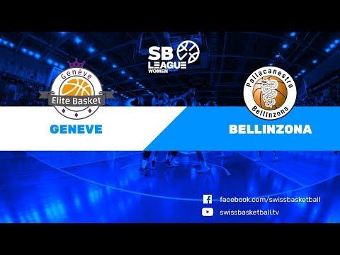 SB League Women - Day 8: Genève vs. Bellinzona