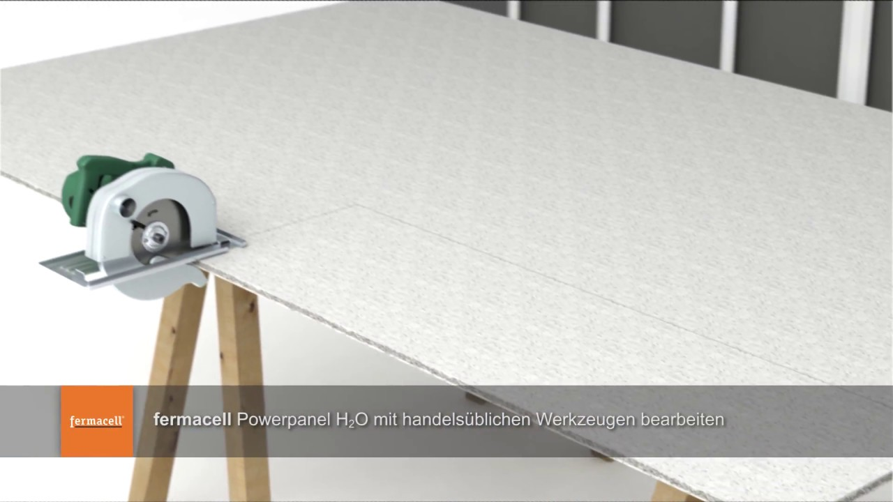 fermacell powerpanel h2o au en verarbeitung vorgeh ngte hinterl ftete fassade youtube. Black Bedroom Furniture Sets. Home Design Ideas