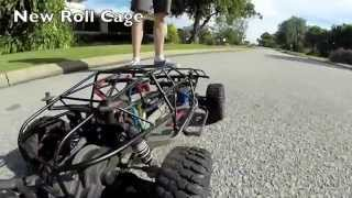 Auto Dream -Upgrade on the RC (roll cage)