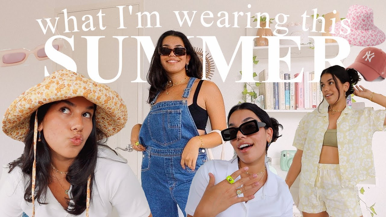 What I'm Wearing this SUMMER 2021 *fashion trends I love