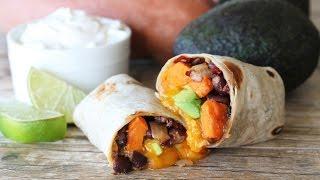 Chipotle Sweet Potato Burritos