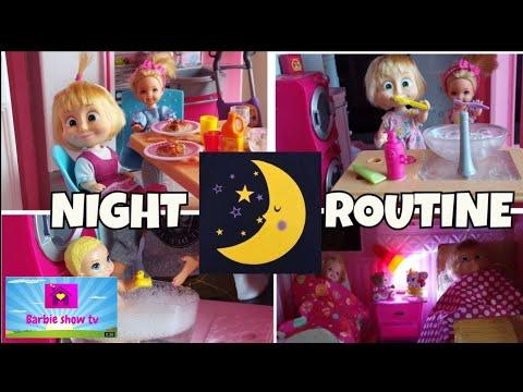 Le avventure di Masha: NIGHT ROUTINE
