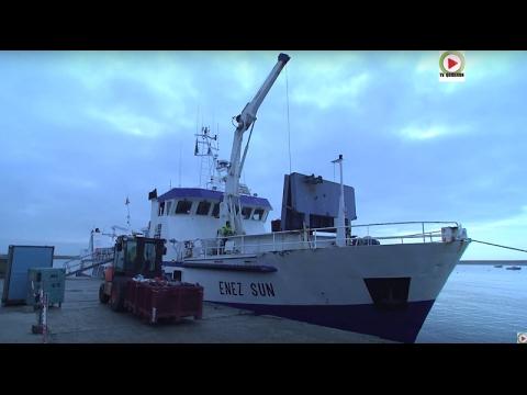 ⛴️ 🏝️ Ile-de-Sein: L'Enez Sun III Roi Du Raz De Sein - Bretagne Télé