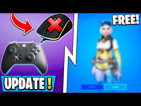 *NEW* Fortnite Update! | Free Skin Tonight, Console Change, Secret Patch Notes!