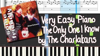 How to play 'The Only One I Know' by The Charlatans on Piano