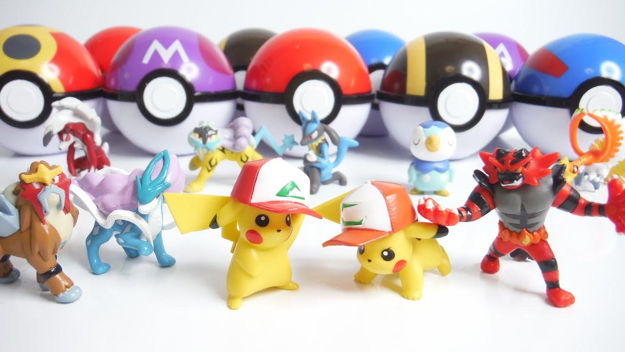 pokemon ポケモンゲットコレクションズ キミにきめた! 全10種 開封