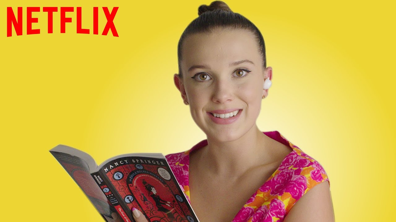 Download Millie Bobby Brown Reads Enola Holmes | Netflix