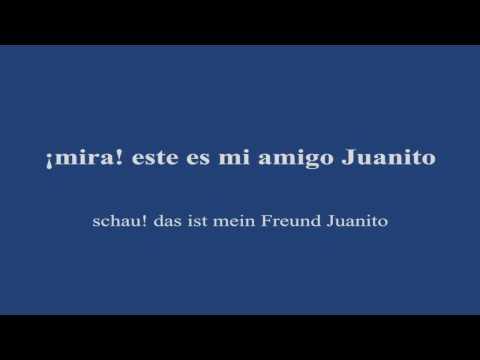Sprachenkino für Spanisch Anfänger Lektion 01 a - Spanisch lernen - Spanisch Dialog Anfänger
