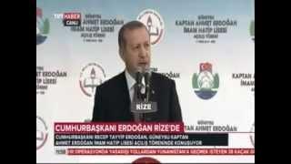 Cumhurbaşkanı Erdoğan, Babasının adını taşıyan okulun açılışını yaptı.