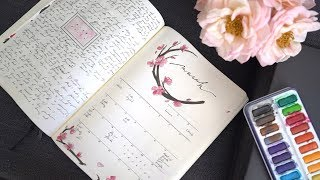 PLAN WITH ME | MARCH 2018 BULLET JOURNAL IDEAS | ANN LE