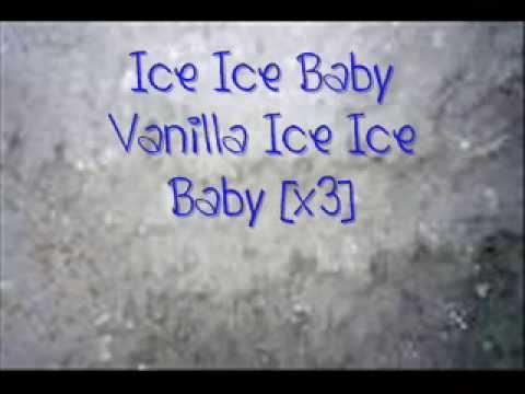 Ice Ice Baby~Vanilla Ice~Lyrics