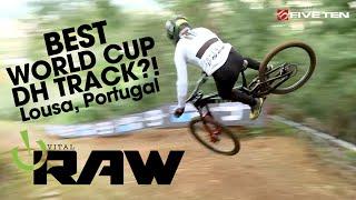 HUGE HUCKS! World Cup DOWNHILL MTB - Vital RAW - Lousa, Portugal