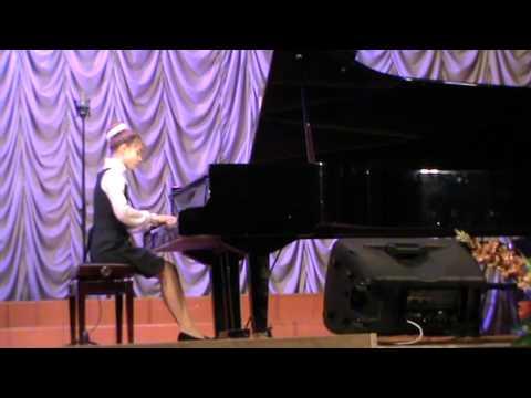 eMuse participation video - Alina Leksunova, piano, 13 years old - Russia