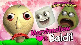 Marshmallow Loves Baldi! [ft. Pear]