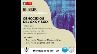 Diálogos en profundidad sobre GENOCIDIOS DE LOS SXX Y SXX (1)