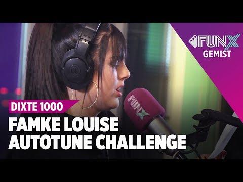 FAMKE LOUISE SLIDE DOOR DE AUTOTUNE CHALLENGE