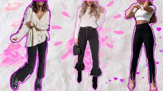 Como utilizar OUTFITS con pantalón negro / OUTFITS casuales con pantalón negro / Lindas Vanidosas
