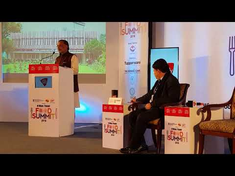 Honourable Union Agriculture Minister Shri Radhamohan Singh about waste decomposer