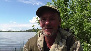 Фидерная рыбалка на Лоше в Беларуси в начале июня Карась нерестится