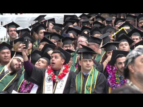 College of Business Administration Commencement 2016