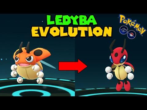 Evolving Ledyba To Ledian Pokemon Go Gen 2 Evolution Youtube