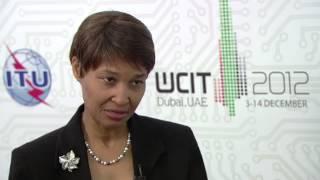 ITU INTERVIEW @ WCIT - 12: Bernadette Lewis, Secretary General, Caribbean Telecommunications Union