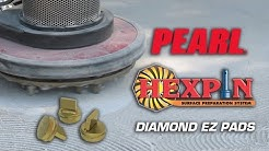 Hexpin® Diamond EZ Pads only from Pearl Abrasive Co.