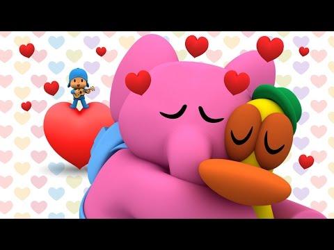 ❤ San Valentín con Pocoyó: Paisajes románticos ❤