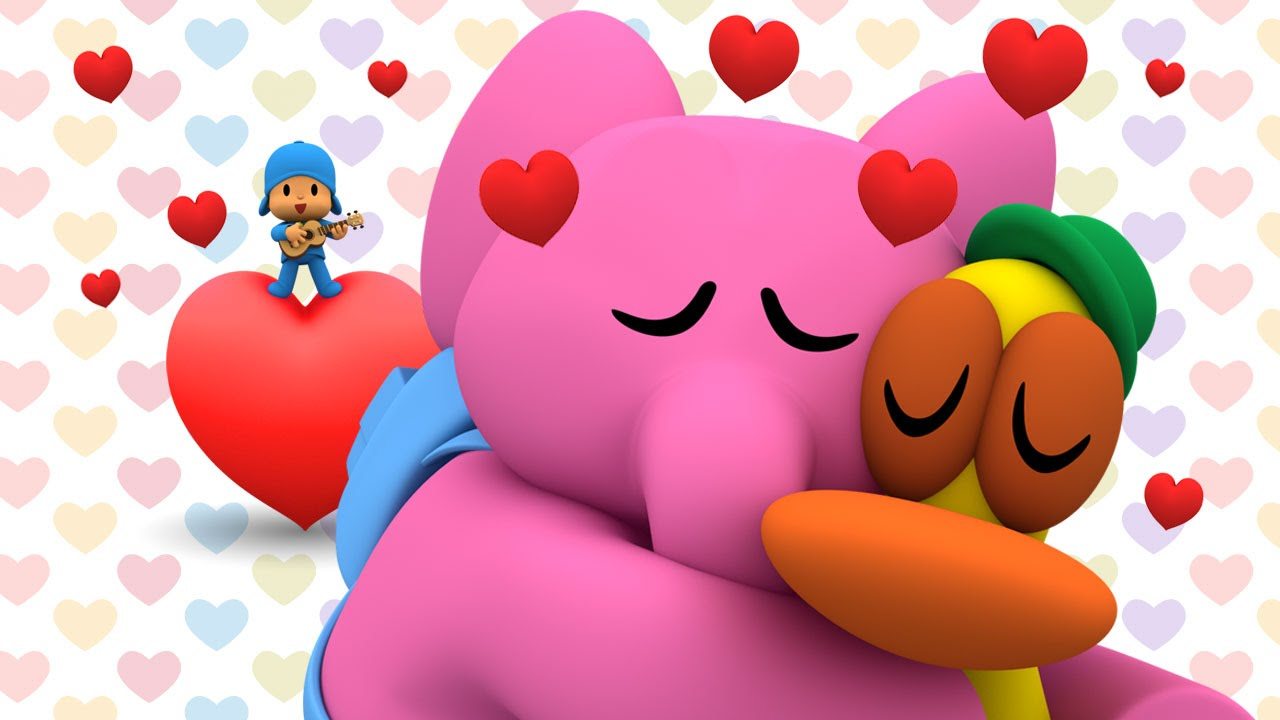 San Valentín Con Pocoyó Paisajes Románticos Youtube